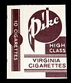 Pike cigarettes package, photo 1.JPG