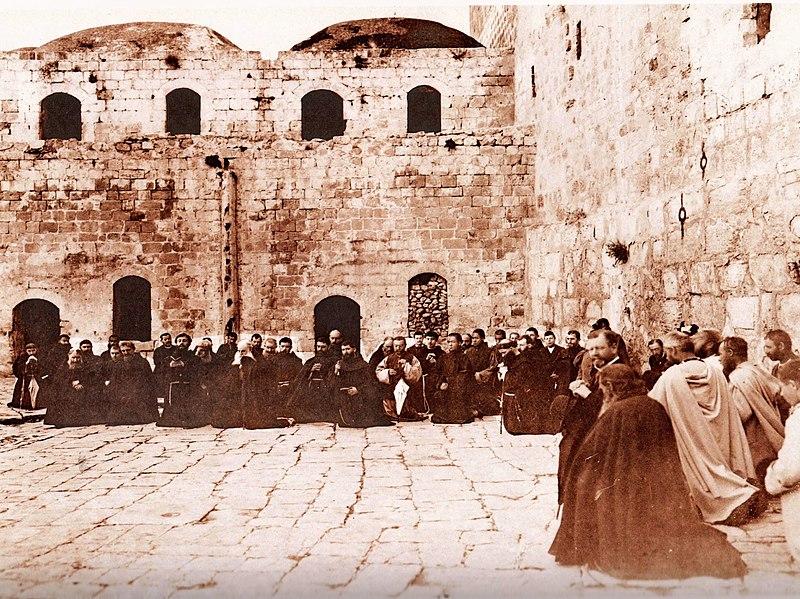חצר מצודת אנטוניה