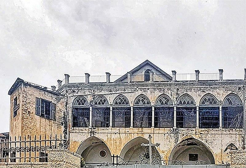 מתחם הכנסיה הקופטית ביפו