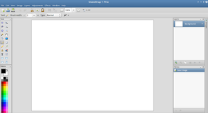 Pinta (software) - Image: Pinta 1 4 screenshot