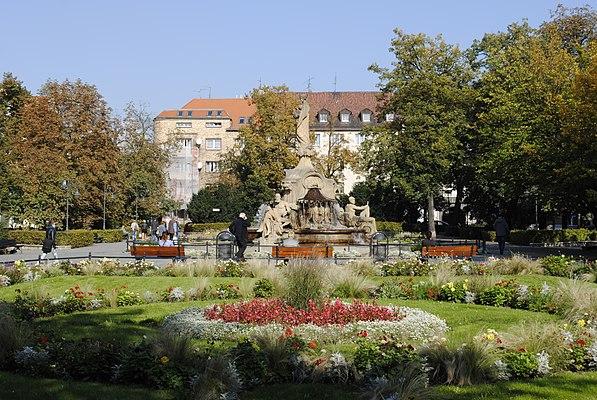 Plac Ignacego Daszyńskiego w Opolu