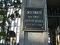 Placa en puerta del INBA.jpg