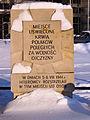 Place of National Memory on Towarowa Street at corner with Kotlarska Street in Warsaw - 04.jpg