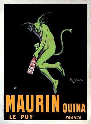 Leonetto Cappiello - Image: Plakat Cappiello Maurin Quina 06