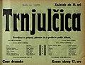 Plakat za predstavo Trnjulčica v Narodnem gledališču v Mariboru 24. decembra 1933.jpg