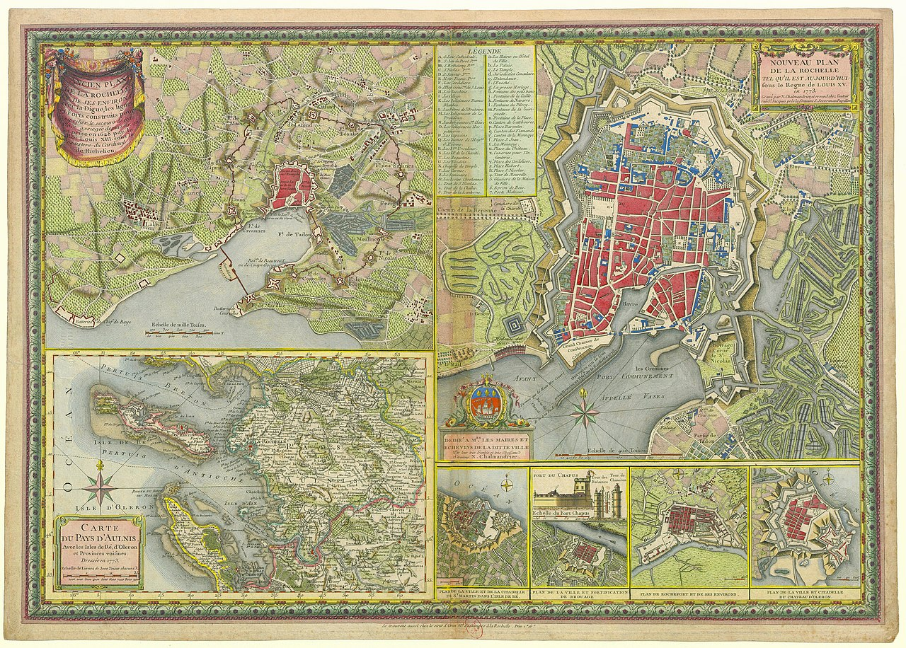 file plan la rochelle et environs 1773 nicolas chalmandrier bnf wikimedia commons. Black Bedroom Furniture Sets. Home Design Ideas