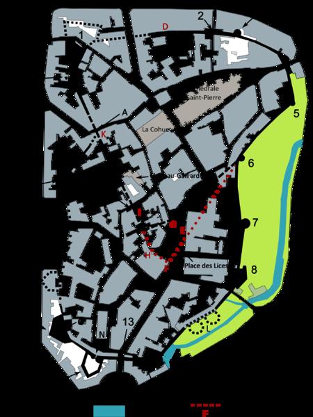 Plan détaillé des remparts de Vannes.png