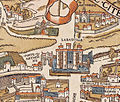 Plan de Paris vers 1550 porte St-Antoine.jpg