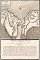 Plan des forts pris par Montcalm en août 1756. Bataille d'Oswego.jpg