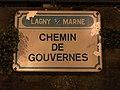 Plaque chemin Gouvernes Lagny Marne 2.jpg