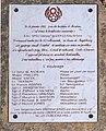 Plaque de la stèle du bomabardier américain du 16 janvier 1943 à Ferrières (Andryes).jpg