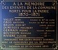 Plaque des victimes de Neyron de la guerre 1870-71 apposée dans la mairie de Neyron.JPG