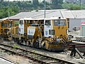 Plasser & Theurer Ballast Regulator - Bristol Temple Meads 2005-07-11 02.jpg