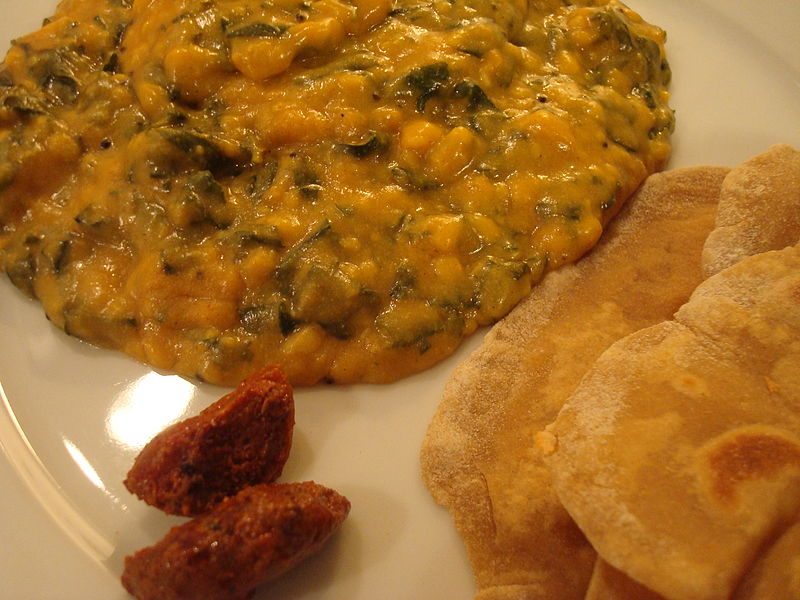 File:Plate of Indian meals - 01.JPG