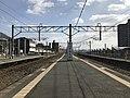 Platform of Akama Station 5.jpg