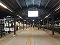 Platform of Mojiko Station at night 2.jpg
