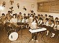 Playing piano in music class.jpg