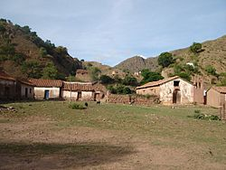The small village of Toroca in the Ravelo Municipality