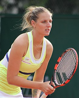 Kristýna Plíšková Czech tennis player