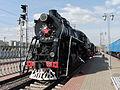Pobeda (Победа) 0001 steam locomotive (5047100126).jpg