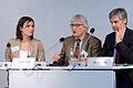 Podium Christine Pütz, Ulrich K. Preuß, Gerald Häfner.jpg