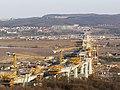 Pohled na stavbu 513 městského dálničního okruhu kolem Prahy dne 21.3.2009 - panoramio.jpg
