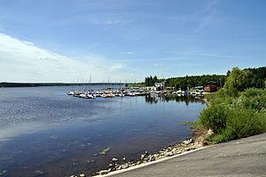 Tomaszów Mazowiecki - A view of the Sulejow Lake