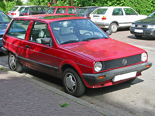 Volkswagen Polo Mk2 Motor vehicle
