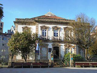 Mendoza Mansion Eclectic mansion in Pontevedra, Spain