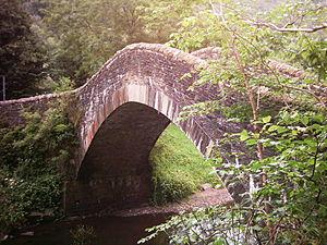 Pont-y-gwaith - The bridge at Pontygwaith