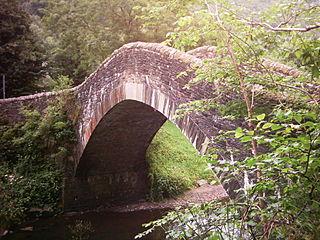 Pontygwaith village in Merthyr Tydfil, Wales