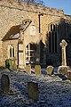 Porch and gravestones, Little Saxham - geograph.org.uk - 1111769.jpg