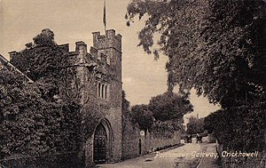 Crickhowell - Porthmawr Gate from 1898