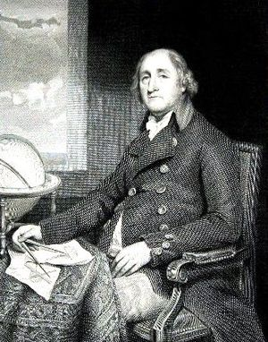 Joseph Huddart - Joseph Huddart, 1802 engraving by James Stow after John Hoppner