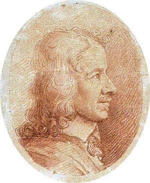 Roland Fréart de Chambray - Portrait of Roland Fréart de Chambray by Charles Errard
