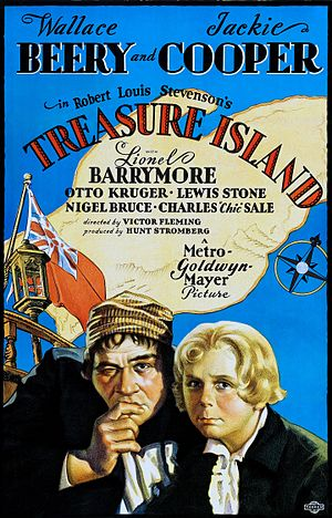 Treasure Island (1934 film) - Theatrical poster