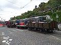 Průvod tramvají 2015, 24b - nákladní souprava 4053, 4525, 4532, 5001, 5007.jpg