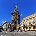 Prague 07-2016 Powder Tower from Republic Square.jpg