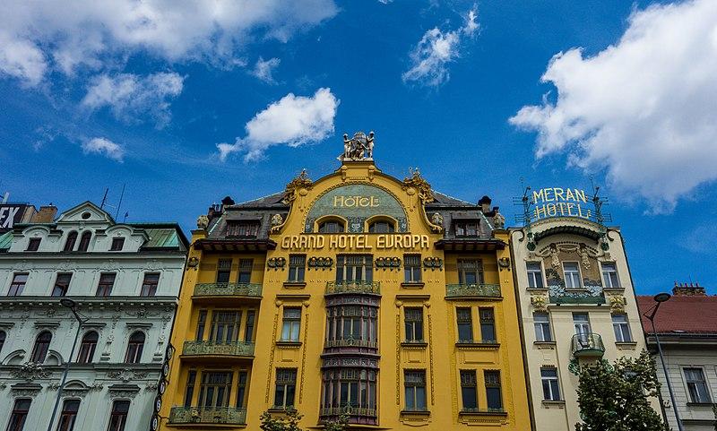 File:Praha, Grand Hotel Evropa.jpg