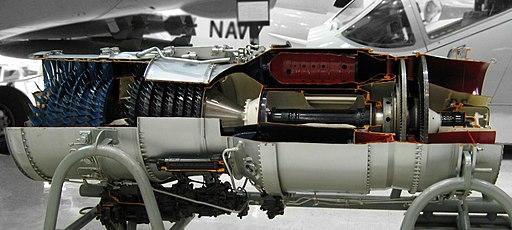 Pratt & Whitney J52 retouched
