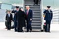 President Trump Arrives in Chicago (48976763356).jpg