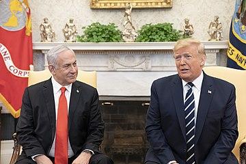President Trump and Israeli Prime Minister Benjamin Netanyahu, From WikimediaPhotos