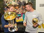 Pressetermin Lukas Podolski und Nico Rosberg, Airport Köln-Bonn-6965.jpg