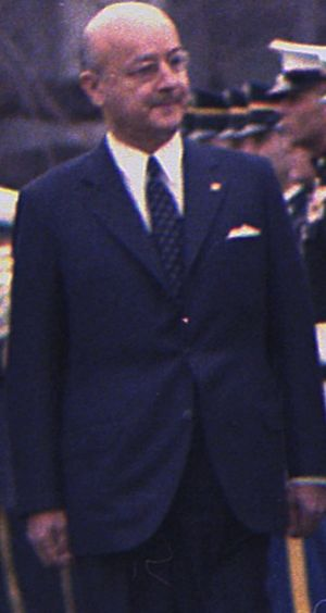1971 in Turkey - Image: Prime Mnister Nihat Erim of the Republic of Turkey