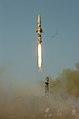 Prithvi missile test on 22 December 2010.jpg
