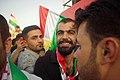 Pro-Kurdistan, pro-independence referendum rally at Franso Hariri Stadium in Erbil 09.jpg