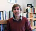 Prof. Greg Dawes at office, NCSU, Jan 2013.png