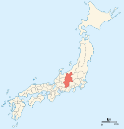 Provinces of Japan-Shinano.svg