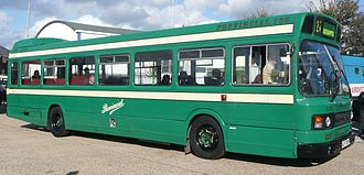 Hants & Dorset - Preserved Leyland National in Provincial livery in October 2008