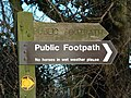 Public Footpath For horses - geograph.org.uk - 323272.jpg